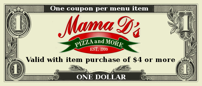 Pizza d's coupons